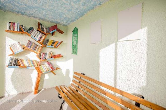 , Θεσσαλονίκη: Στάσεις αστικών λεωφορείων μετατρέπονται σε… βιβλιοθήκες! [pics]