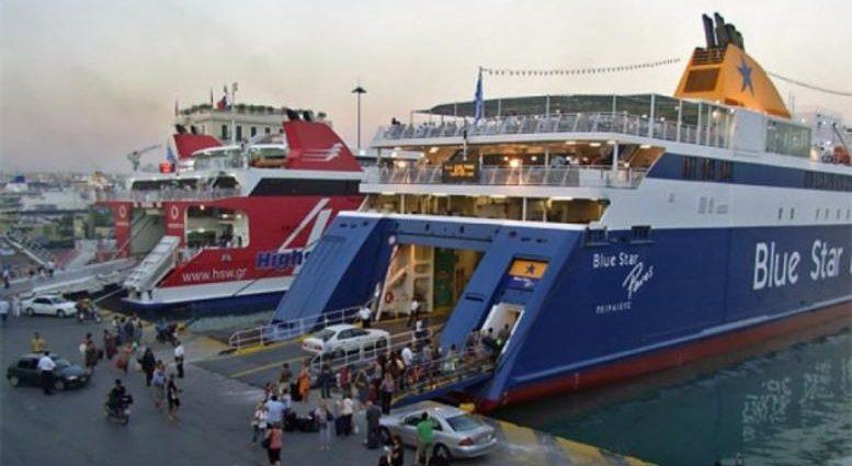 , Με καθυστερήσεις τα δρομολόγια των πλοίων στον Πειραιά