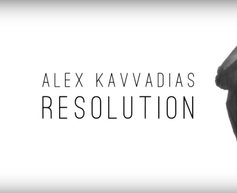 Alex Kavvadias – «Resolution»