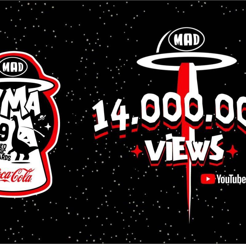 Οι εμφανίσεις στα Mad Video Music Awards 2019 by Coca-Cola βρίσκονται στις κορυφαίες τάσεις του Youtube ξεπερνώντας τις 14 εκατομμύρια προβολές!