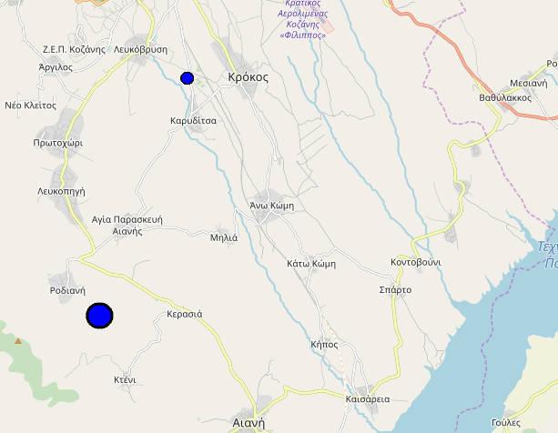 , Σεισμός 4,6 ρίχτερ ταρακούνησε τον νομό Κοζάνης – Και δεύτερος λίγα λεπτά αργότερα