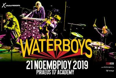 , The Waterboys | 21 Noεμβρίου 2019 | Piraeus 117 Academy