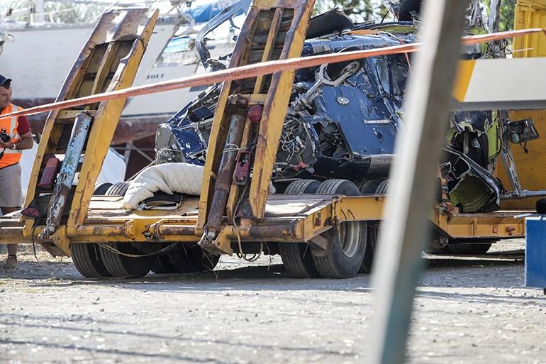 , Από μηχανική βλάβη η πτώση του ελικοπτέρου στον Πόρο