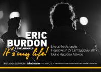 , Eric Burdon στο Ηρώδειο στις 27/9 | Songs On Demand | Διαλέξτε τα αγαπημένα σας τραγούδια
