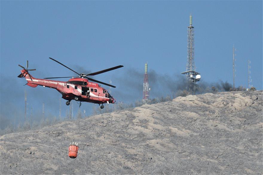 , Στις φλόγες και πάλι ο Υμηττός! Μεγάλη πυρκαγιά σε εξέλιξη | Εκκενώθηκαν σπίτια! Καλύτερη η εικόνα σύμφωνα με την πυροσβεστική