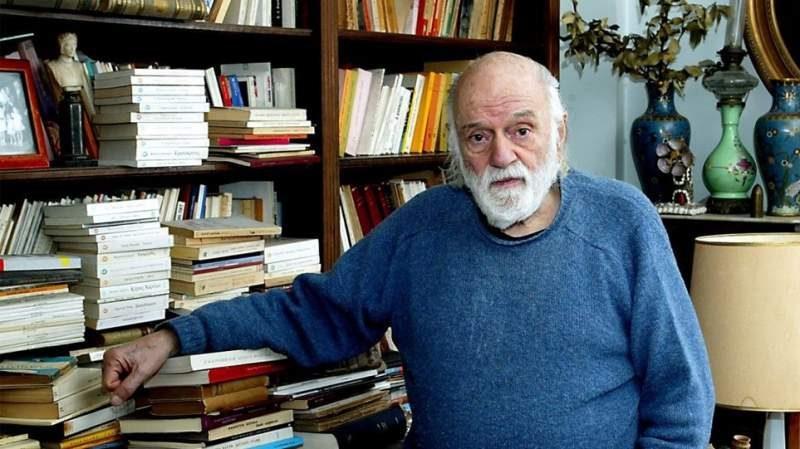 Οι εκδόσεις Ψυχογιός αποχαιρετούν τον Νάνο Βαλαωρίτη