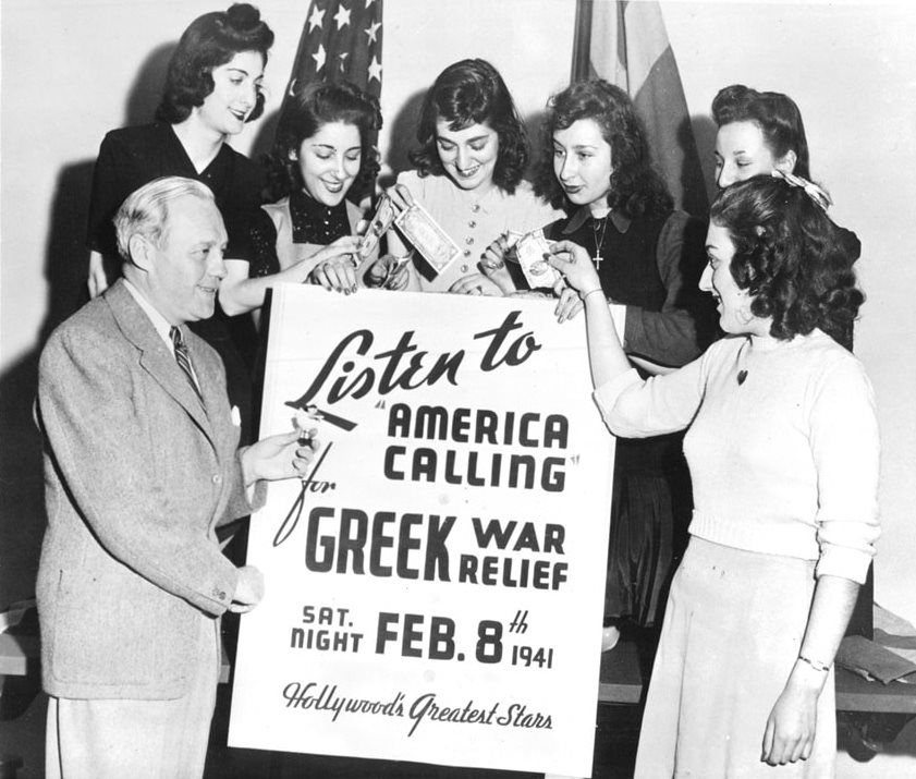 , The Hour Of Greece | Η 28η Οκτωβρίου 1940 και η ανταπόκριση των Αμερικανών