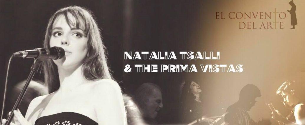 , Natalia Tsalli and The Prima Vistas στο El Convento Del Arte