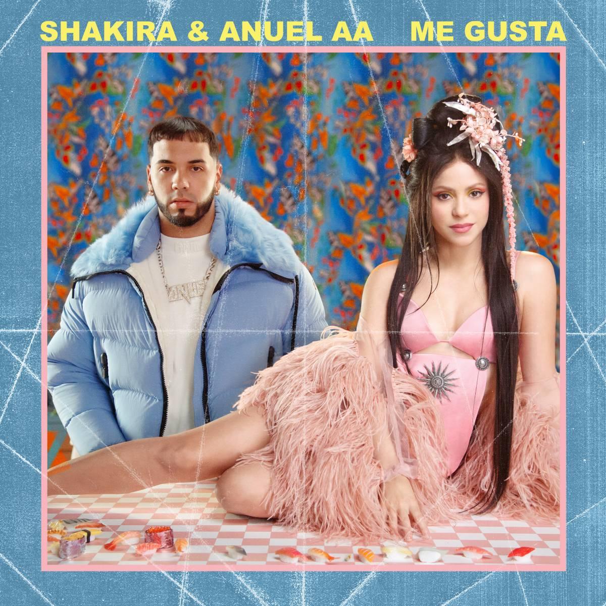 , Η Shakira κυκλοφορεί νέα συνεργασία με τον Anuel AA με τίτλο ME GUSTA!