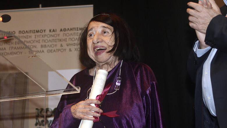 Πέθανε η διακεκριμένη ποιήτρια Κατερίνα Αγγελάκη-Ρουκ
