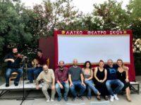 , «Φιλοθέη η αρχοντοπούλα των Αθηνών» στο φουαγιέ του Δημοτικού Θεάτρου Πειραιά