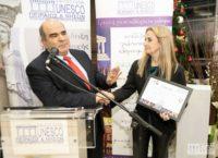 , Το Ίδρυμα Μείζονος Ελληνισμού βραβεύθηκε, από τον Όμιλο UNESCO Πειραιώς και Νήσων, για την συμβολή του στη διατήρηση της ιστορικής μνήμης, στην έρευνα και τη χρήση νέων τεχνολογιών