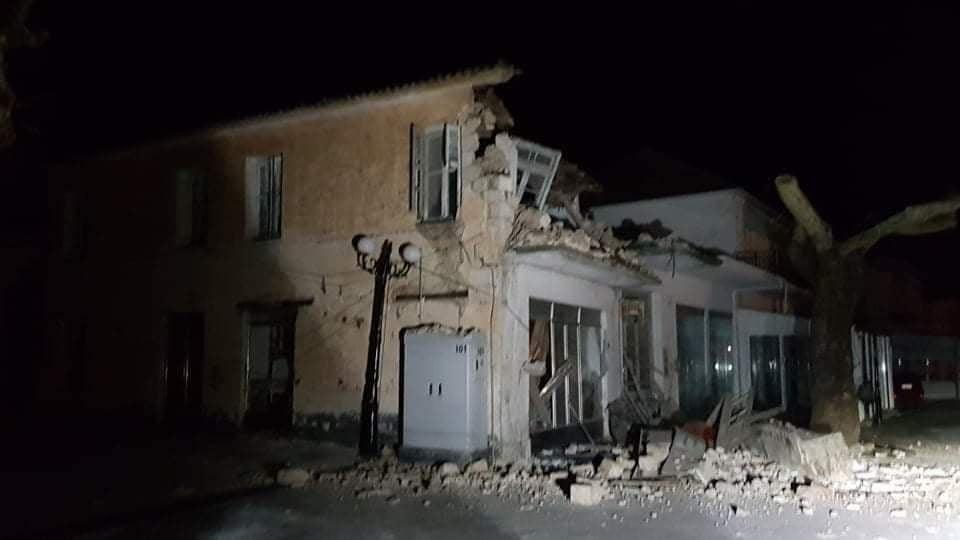 , Ισχυρή σεισμική δόνηση 5,6R βορειοανατολικά της Πάργας – Υλικές ζημιές στο Καναλλάκι Πρέβεζας