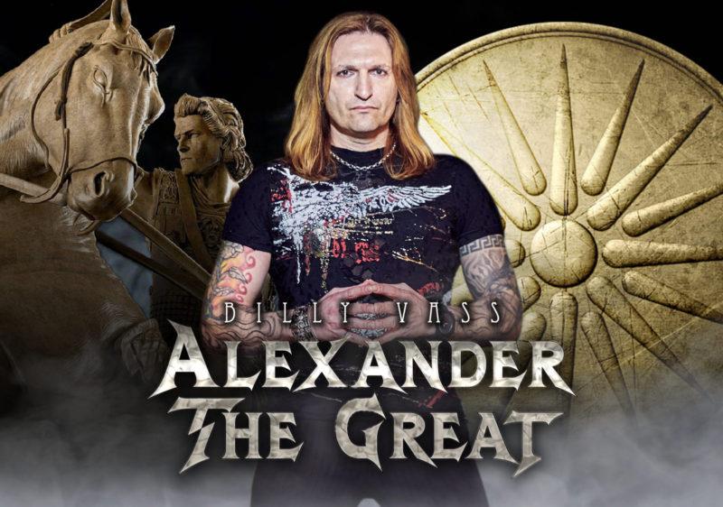"""BILLY VASS – """"Alexander The Great"""" νέο single από την Spider Music"""