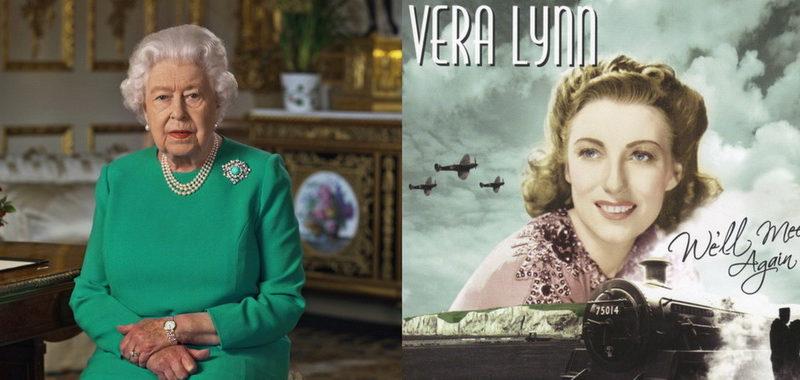 """Βασίλισσα Ελισάβετ: Ιστορικό διάγγελμα με στίχους της Vera Lynn """"We'll Meet Again"""""""