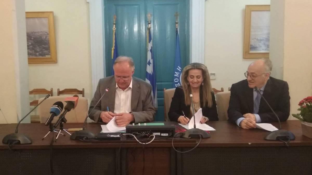 Το Ίδρυμα Μείζονος Ελληνισμού υπογράφει μνημόνιο συνεργασίας με τον Δήμο Σπάρτης
