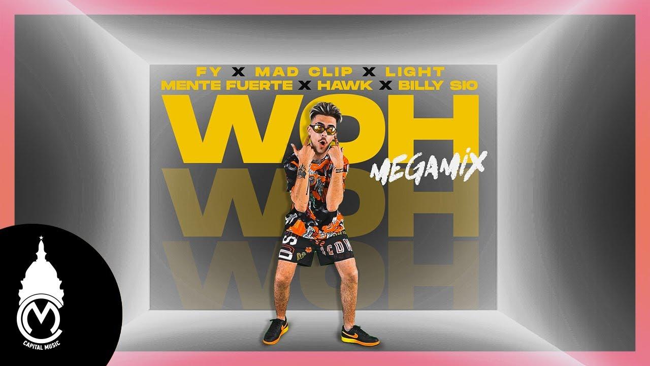 «Woh» MegaMix: Η αφρόκρεμα της ελληνικής rap/trap σκηνής σε ένα hit!