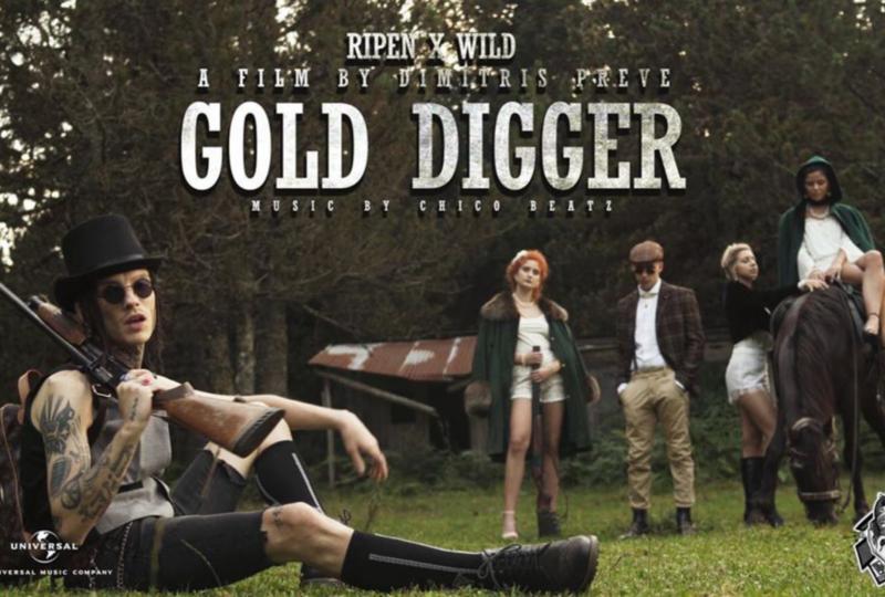 "Ripen x Wild – ""Gold Digger"" – Ένα βίντεο κλιπ από άλλη εποχή στα hot trends του YouTube"