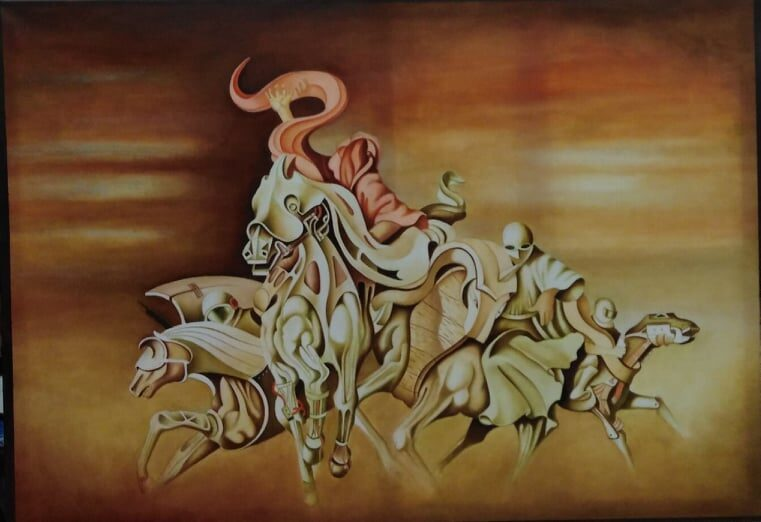 COLORFULL ART EXHIBITION | MEGART GALLERY