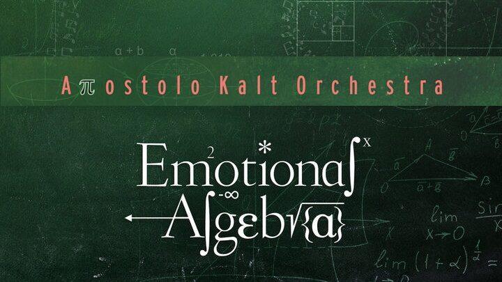 Απόστολος Καλτσάς «Emotional Algebra» by Apostolo Kalt Orchestra | Νέα κυκλοφορία album