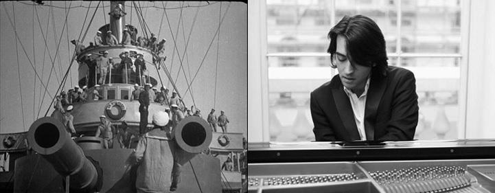 Αλλαγή Ημερομηνίας για το «Θωρηκτό Ποτέμκιν» με τον Μάνο Κιτσικόπουλο | Το αριστούργημα της έβδομης τέχνης  µε live μουσική από πιάνο