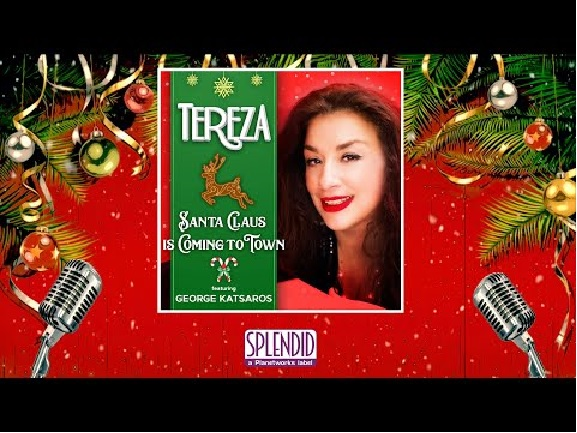 Tereza «Santa Claus Is Coming To Town» Feat. George Katsaros