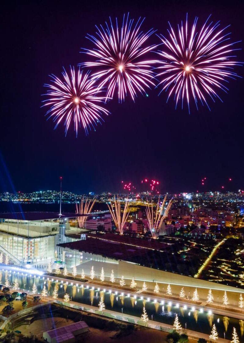 Με μουσική και πυροτεχνήματα υποδέχτηκε το 2021 το Κέντρο Πολιτισμού Ίδρυμα Σταύρος Νιάρχος | Το πρόγραμμα αναμεταδόθηκε διαδικτυακά και από τη συχνότητα της ΕΡΤ2