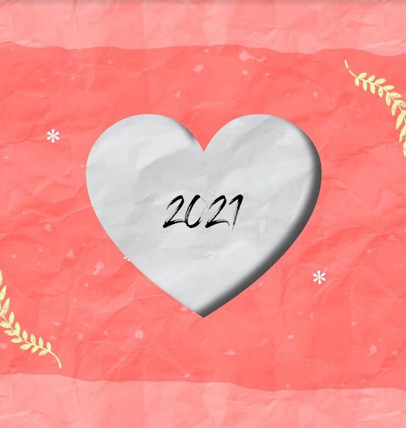 2021 ευχές με παιδικά γούρια | Online εικαστικό εργαστήρι για μικρούς καλλιτέχνες